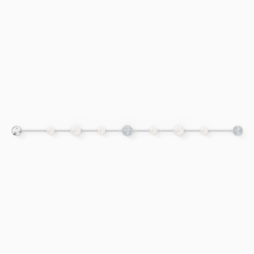 Swarovski Remix Collection Pearl Strand, weiss, rhodiniert - Swarovski, 5570816