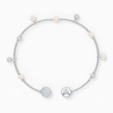 Swarovski Remix Collection Delicate Pearl Strand, White, Rhodium plated - Swarovski, 5572076