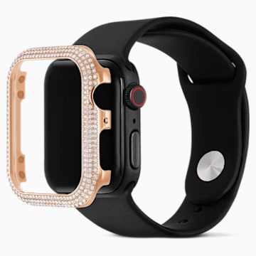 44mm Sparkling Apple Watch ®용 케이스, 로즈골드 톤 - Swarovski, 5572423