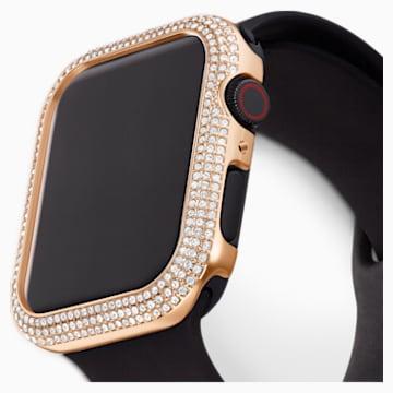 Funda compatible con Apple Watch ® 44mm Sparkling, tono oro rosa - Swarovski, 5572423