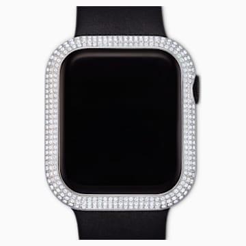 44mm pouzdro Sparkling kompatibilní s hodinkami Apple Watch®, stříbrné - Swarovski, 5572426