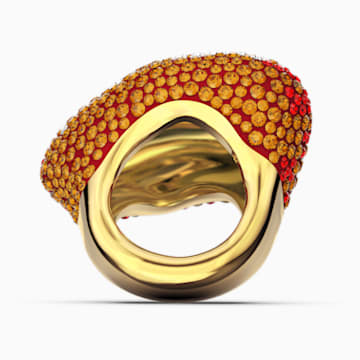 The Elements Ring, Orange, vergoldet - Swarovski, 5572450