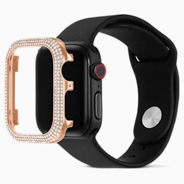 40 mm Sparkling Case compatible with Apple Watch®, Rose-gold tone - Swarovski, 5572574