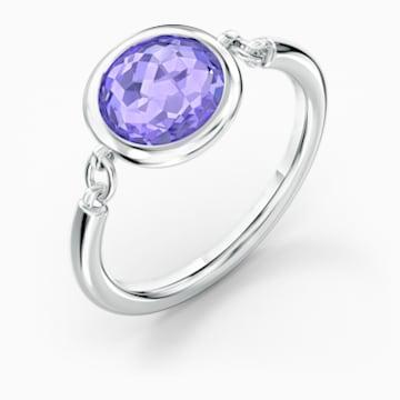 Bague Tahlia, violet, métal rhodié - Swarovski, 5572701