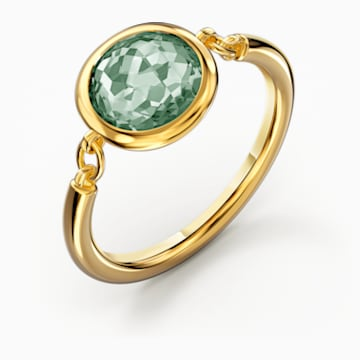 Tahlia Ring, grün, vergoldet - Swarovski, 5572706