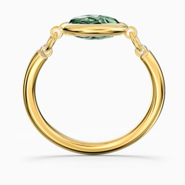 Tahlia Ring, Green, Gold-tone plated - Swarovski, 5572708