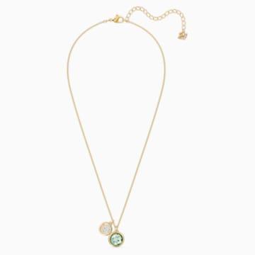 Tahlia Set, grün, vergoldet - Swarovski, 5579789