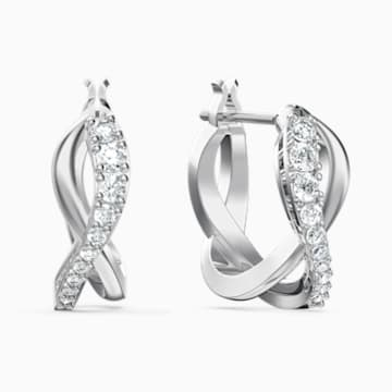 Set Twist, bianco, placcato rodio - Swarovski, 5579790