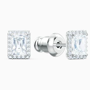 Parure Angelic, blanc, métal rhodié - Swarovski, 5579842