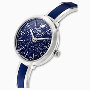 Crystalline Delight 腕表, 金属手链, 蓝色, 不锈钢 - Swarovski, 5580533