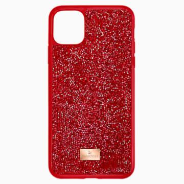 Glam Rock Smartphone 套, iPhone® 12 mini, 红色 - Swarovski, 5592044