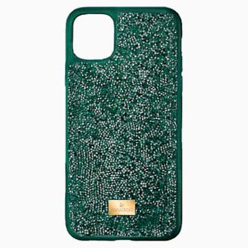 Glam Rock Smartphone 套, iPhone® 12 mini, 绿色 - Swarovski, 5592045
