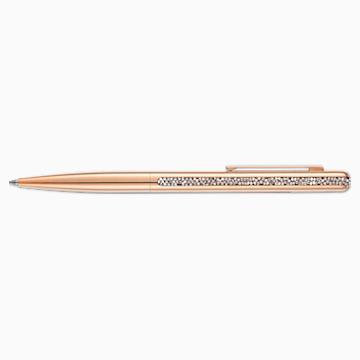 Crystal Shimmer Ballpoint Pen, Rose-gold tone, Rose-gold tone plated - Swarovski, 5595673