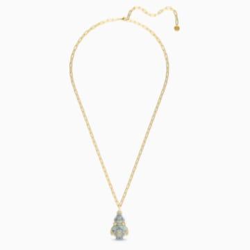 Flower of Fortune 项链, 镀金色调 - Swarovski, 5599184