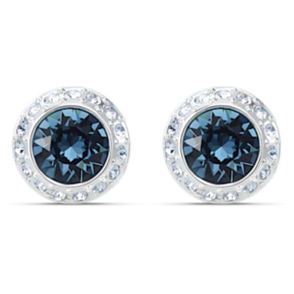Blue Rose Earring Vintage  Dangle Earring 18\u00d725