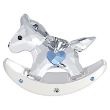 Rocking Horse, Blue - Swarovski, 1194059
