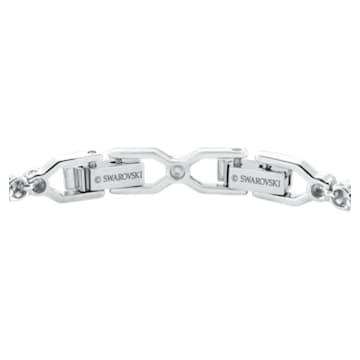 Emily 手链, 白色, 镀铑 - Swarovski, 1808960