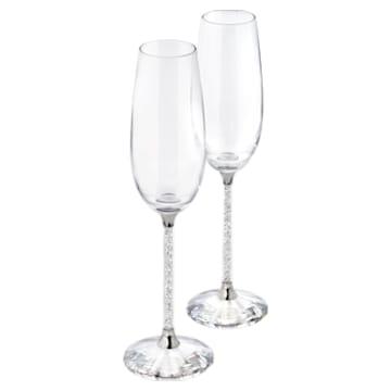 Crystalline pezsgős pohár szett (2 db) - Swarovski, 255678