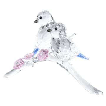 蓝冠山雀 (一对) - Swarovski, 5004727