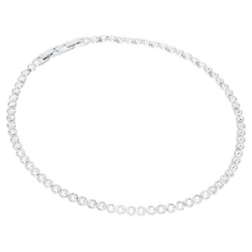 Tennis 套装, 白色, 镀铑 - Swarovski, 5007747