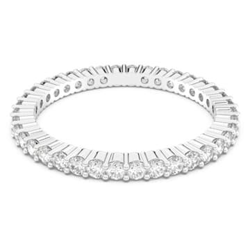 Anello Vittore, bianco, placcatura rodio - Swarovski, 5007778