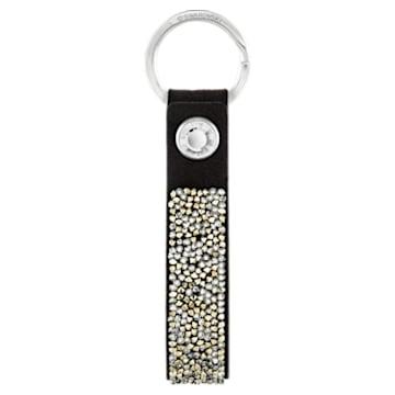 Portachiavi Glam Rock, nero, acciaio inossidabile - Swarovski, 5174947