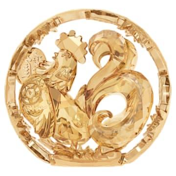 Zodiaque Chinois – Coq, Doré - Swarovski, 5213550