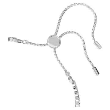 Subtle Armband, Weiss, Rhodiniert - Swarovski, 5221397