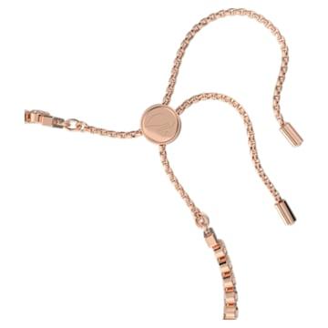Subtle 手链, 白色, 镀玫瑰金色调 - Swarovski, 5224182