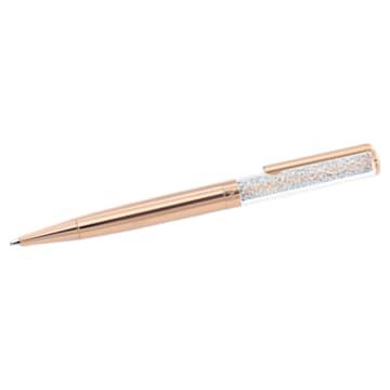 Caneta esferográfica Crystalline, banhada a rosa dourado - Swarovski, 5224390