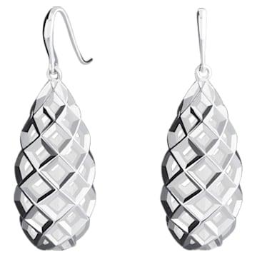 Open Lattice Drop Earrings - Swarovski, 5229288