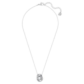 Further pendant, White, Rhodium plated - Swarovski, 5240524
