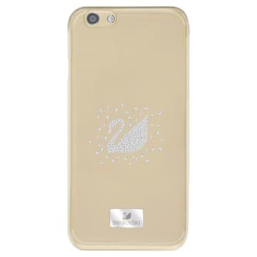 Swan Silvery Funda para smartphone, iPhone® 6 Plus / 6s Plus - Swarovski, 5259734