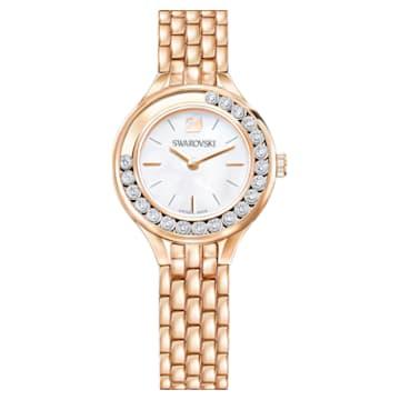 Lovely Crystals Uhr, Metallarmband, Roségold-Legierungsschichtes PVD-Finish - Swarovski, 5261496