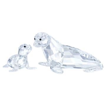 海狮妈妈及宝宝 - Swarovski, 5275796