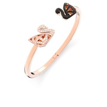 Facet Swan-armband, Meerkleurig, Gemengde metaalafwerking - Swarovski, 5289535