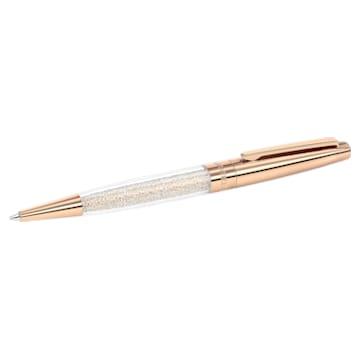 Bolígrafo Crystalline Stardust, Baño de oro rosa - Swarovski, 5296363