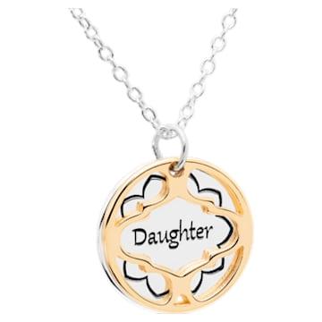 Treasure Necklace - Daughter - Swarovski, 5301720