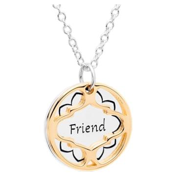 Treasure Necklace - Friend - Swarovski, 5301722