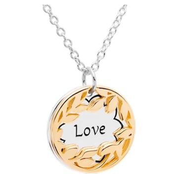 Treasure Necklace - Love - Swarovski, 5301723