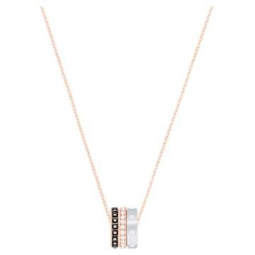 Μενταγιόν Hint, πολύχρωμα, φινίρισμα μικτού μετάλλου - Swarovski, 5353666