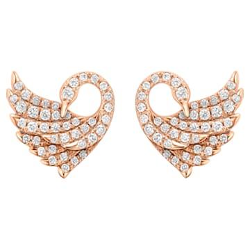 Dancing Swan Earrings - Swarovski, 5362927