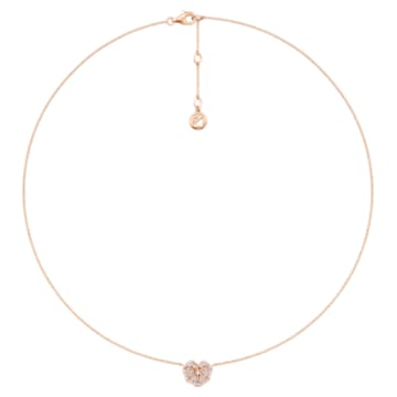 Verdure Heart Collar Necklace - Swarovski, 5362949