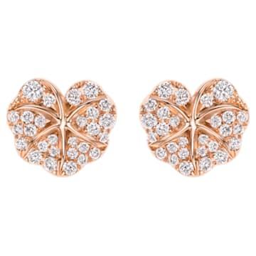 Verdure Heart Earrings - Swarovski, 5362950