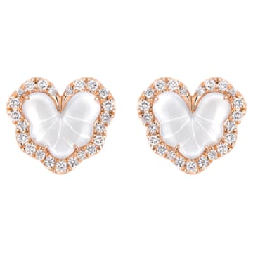 Verdure Heart Earrings - Swarovski, 5362952