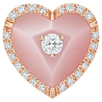 Honeycomb Heart Pendant - Swarovski, 5362957