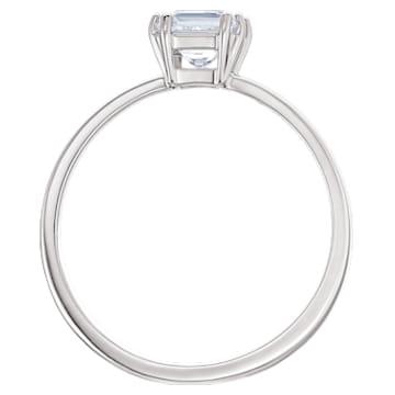 Attract Motif Ring, White, Rhodium plated - Swarovski, 5372880