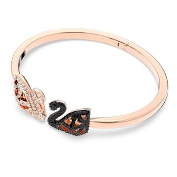 Facet Swan-armband, Meerkleurig, Gemengde metaalafwerking - Swarovski, 5372919
