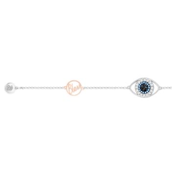 Swarovski Remix Collection Evil Eye Strand, violett, Metallmix - Swarovski, 5373230