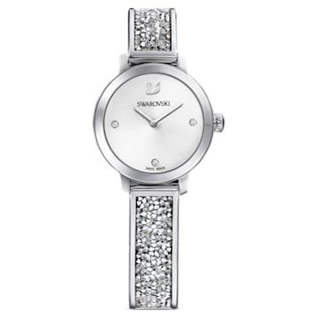 Cosmic Rock-horloge, Metalen armband, Wit, Roestvrij staal - Swarovski, 5376080